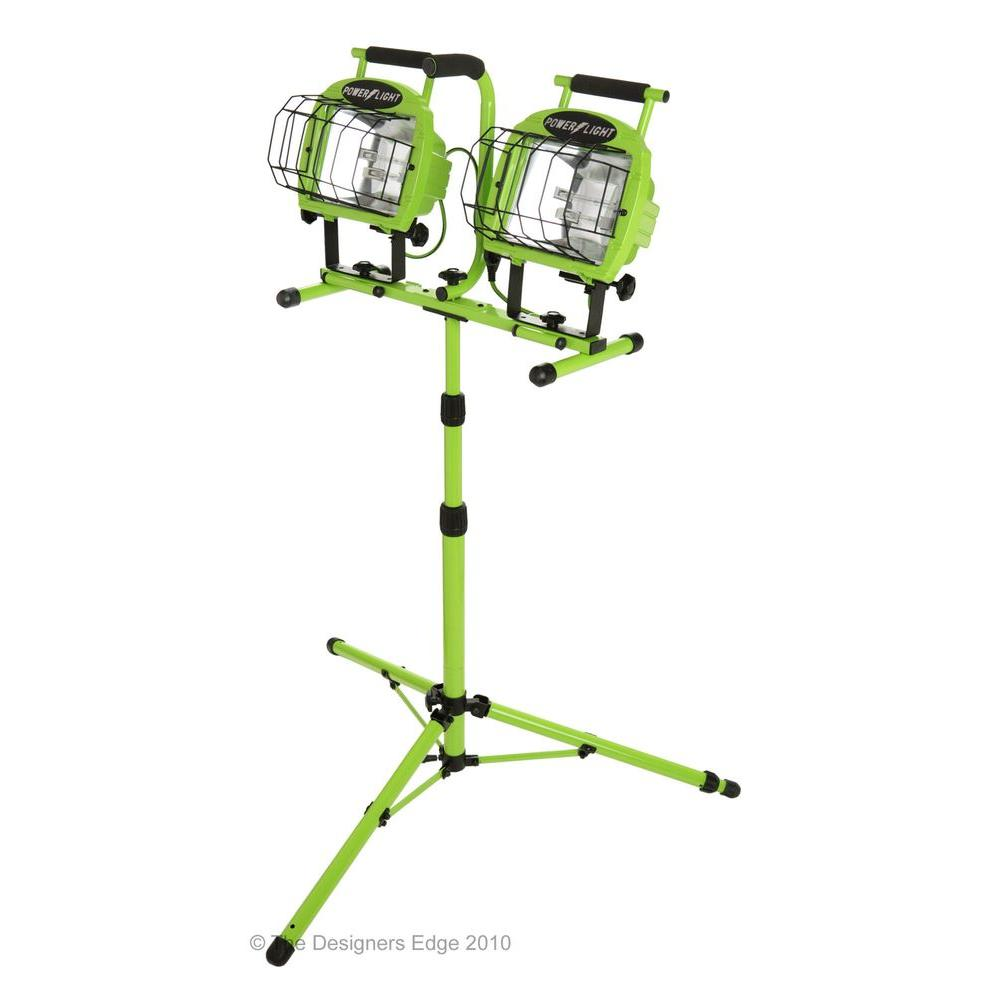Work Light Stand Cep 5610i Dual 500w Head Halogen