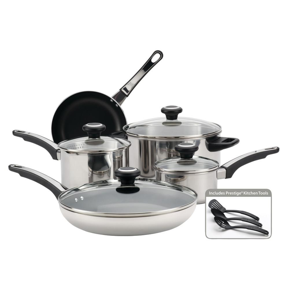 Farberware High Performance 12-Piece Stainless Steel ...