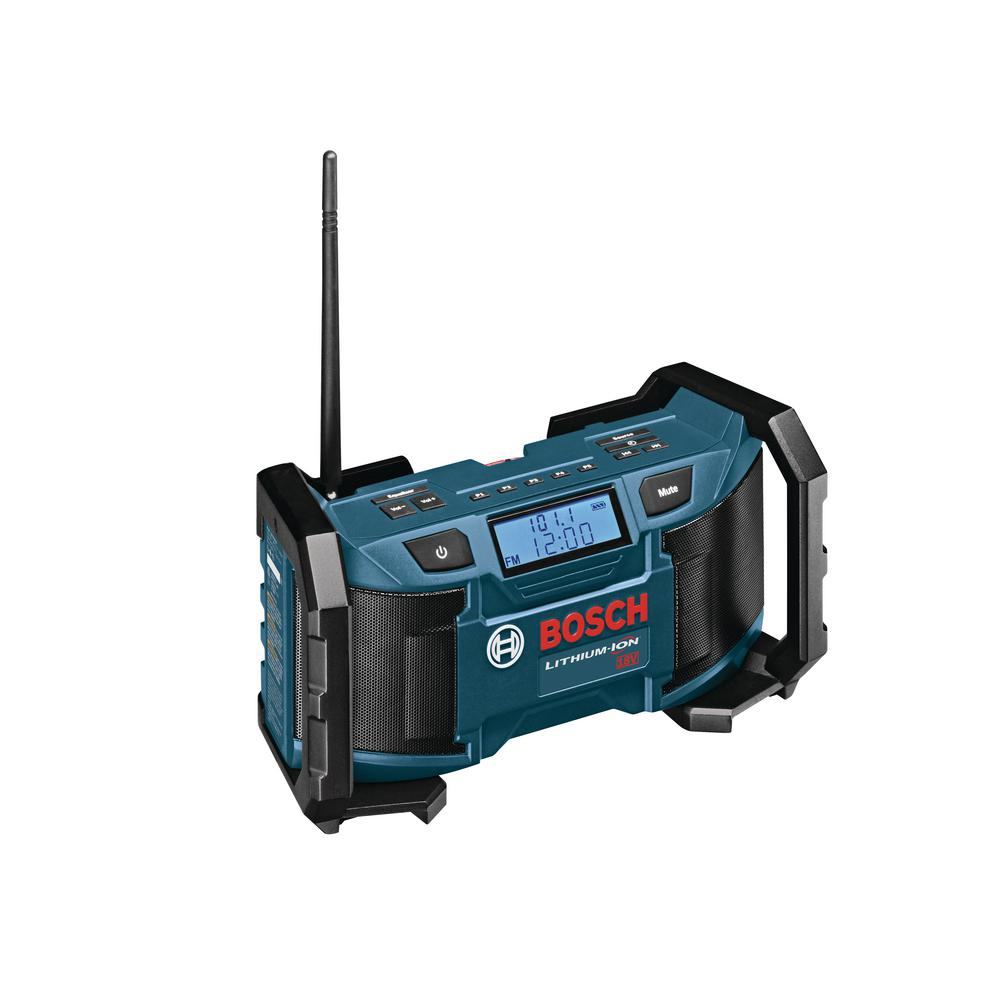 18 Volt Lithium-Ion Cordless Compact Jobsite Radio