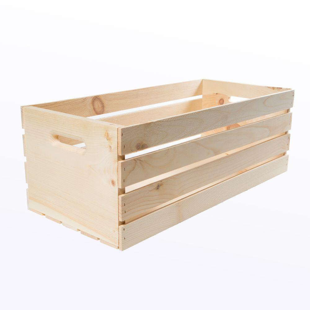 Crates & Pallet Crates and Pallet 27 in. x 12.5 in. x 9.5 in. X ...