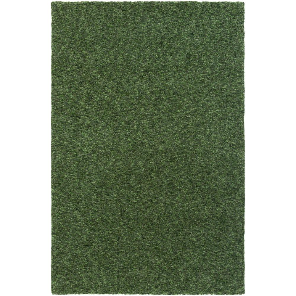 Sally Maise Olive Green 8 ft. x 11 ft. Indoor Area