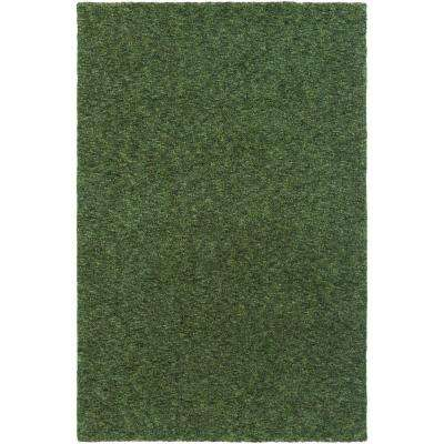 Sally Maise Olive Green 8 ft. x 11 ft. Indoor Area Rug