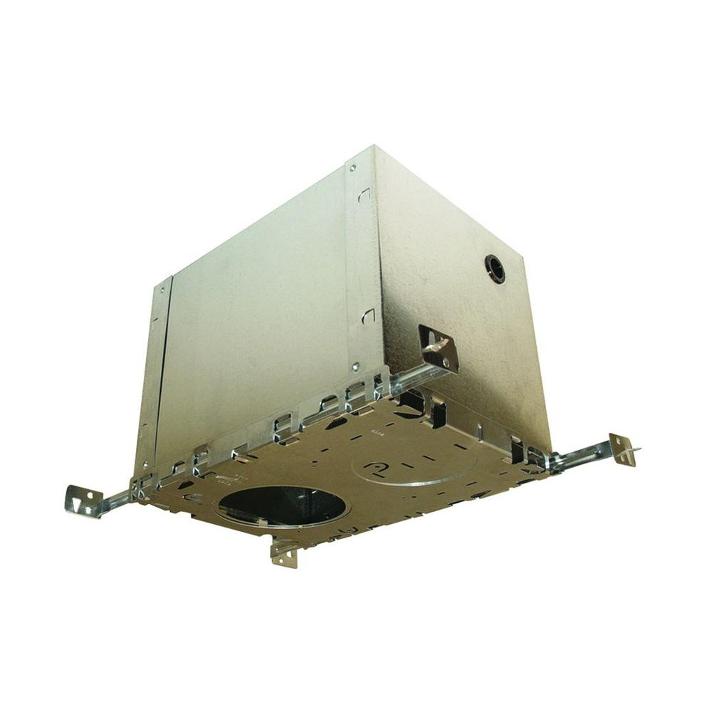 Recessed Lighting Installation Insulated Ceiling : Bazz insulated ceiling box for recessed kits bt the