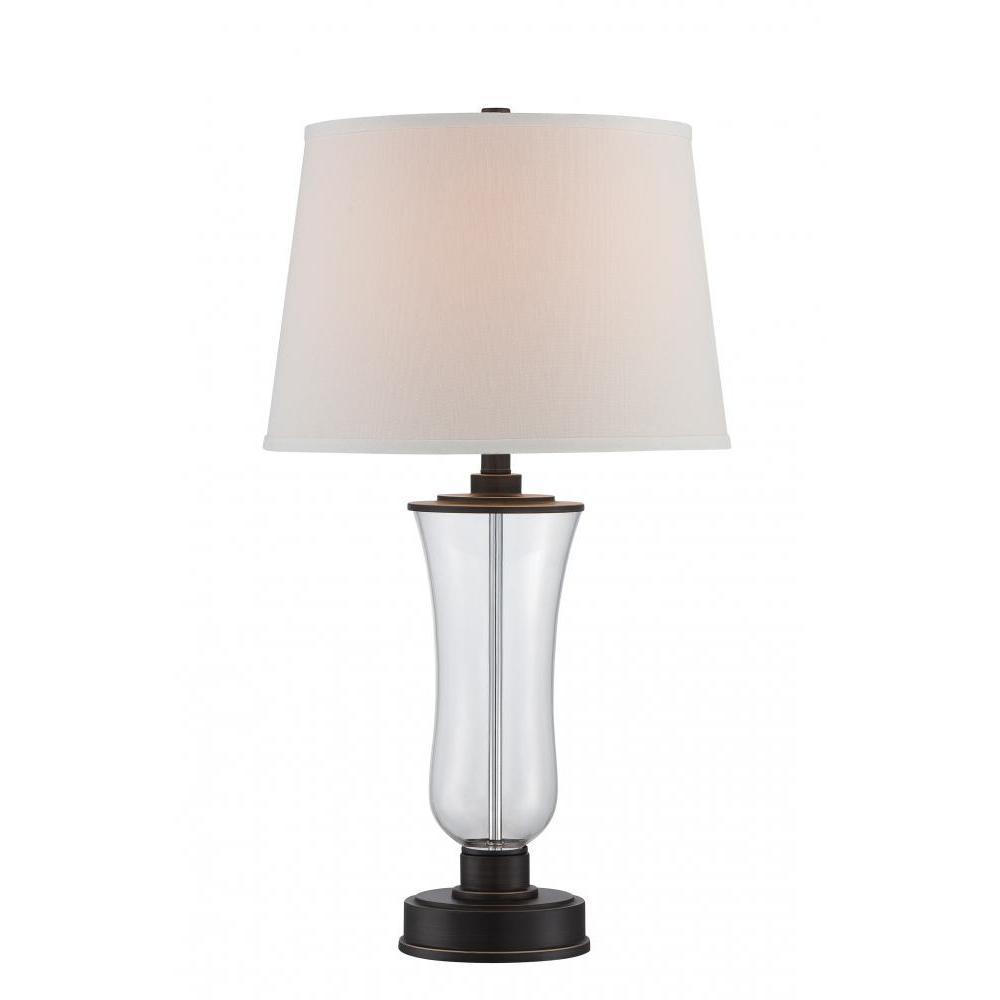 28.5 in. Dark Bronze Table Lamp