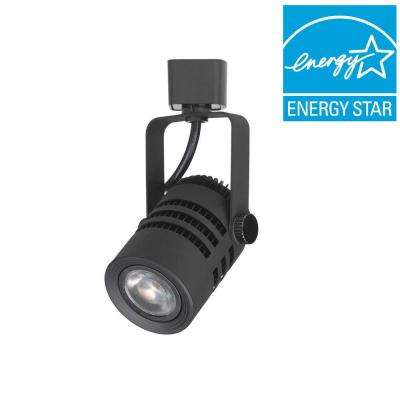 3.75 in. Black LED Dimmable Track Lighting Spot Head