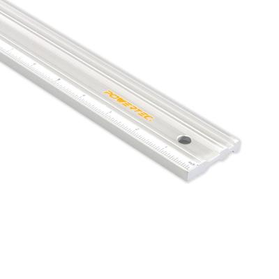 50 in. Anodized Aluminum Straight Edge Ruler, Metal Machined Flat to Within 0.003 in. Over Full 50 in.