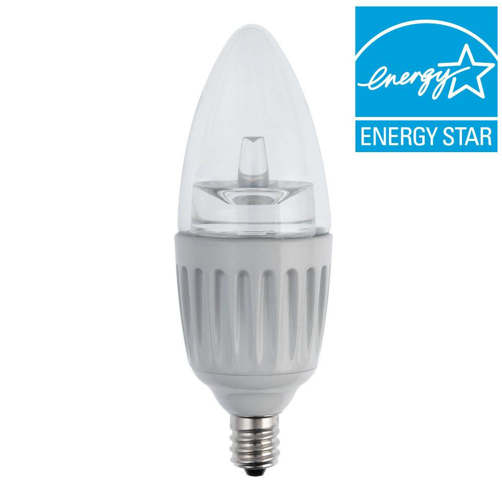 25W Equivalent Soft White B11 Dimmable LED Light Bulb
