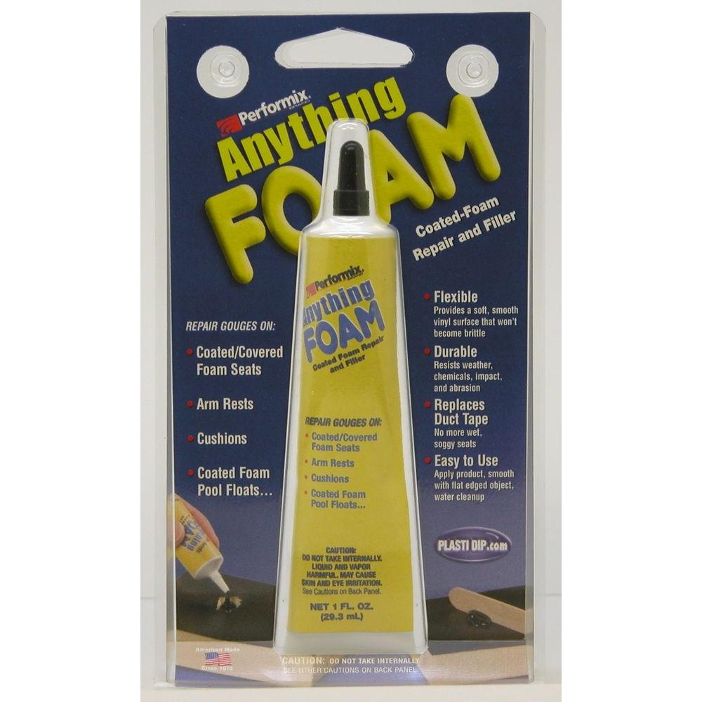 Performix Brand 1 oz. Black Anything Foam (6-Pack)-DISCONTINUED