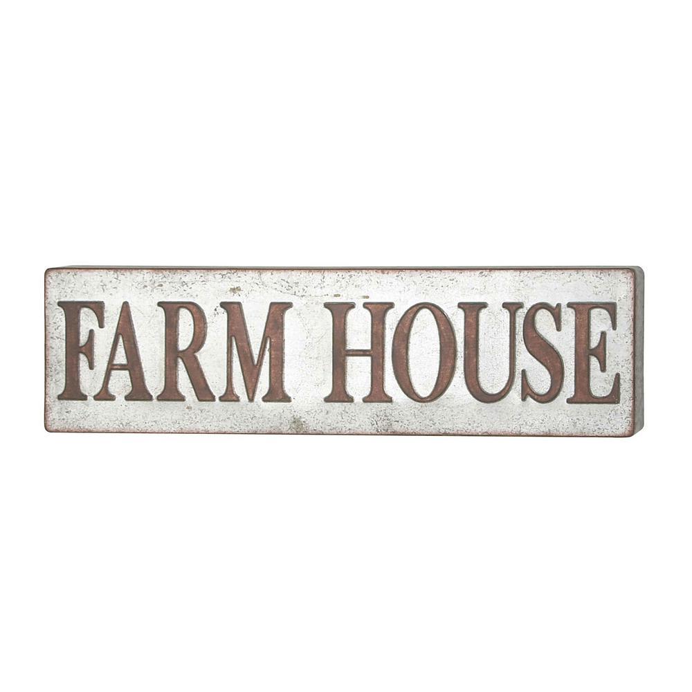 FARM HOUSE Iron Decorative Sign