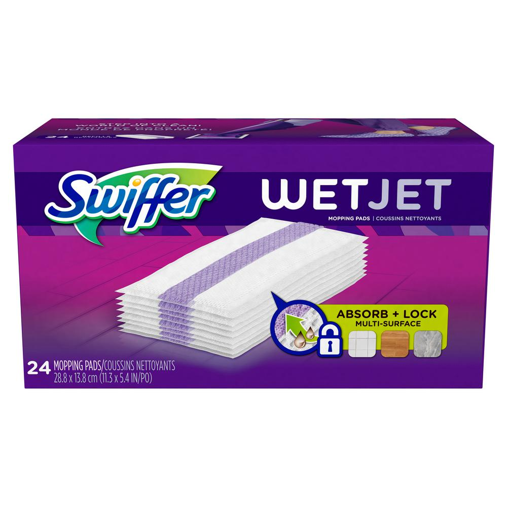 Swiffer Wet Jet Cleaning Pad Refill 24 Count
