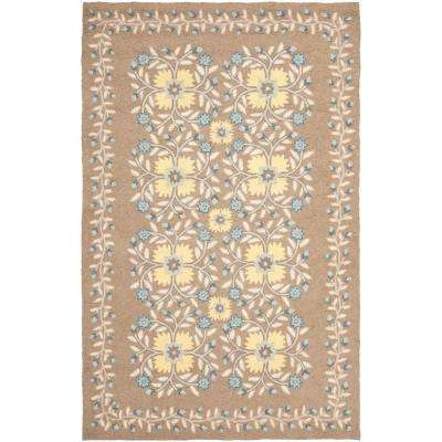Folklore Monk's Cloth 5 ft. x 8 ft. Area Rug