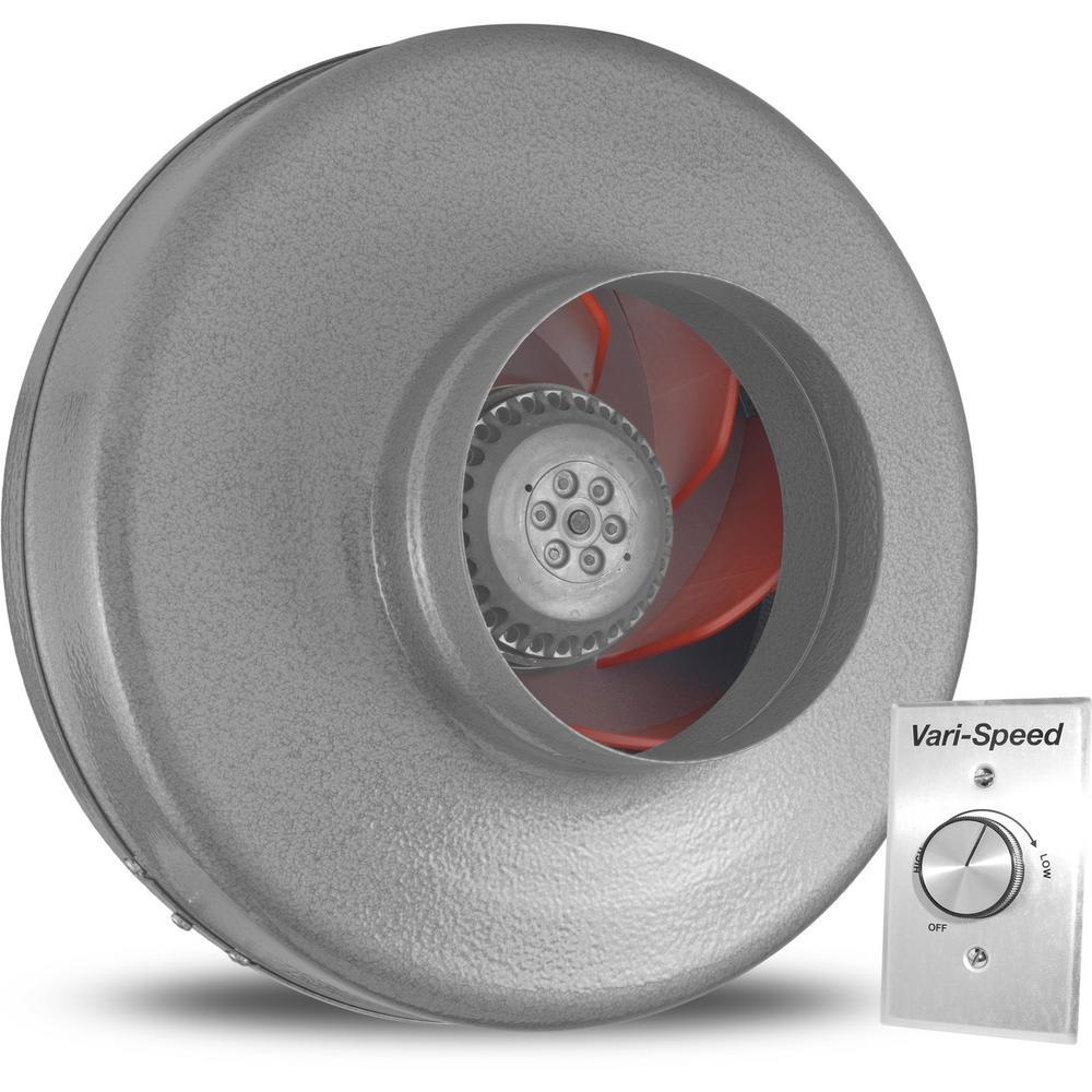 Powerfan 6 in. 497 CFM Inline Fan with Vari-Speed Kit