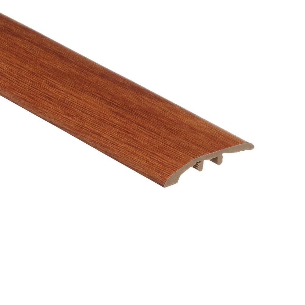 Zamma Sapelli Red 5/16 in. Thick x 1-3/4 in. Wide x 72 in. Length Vinyl Multi-Purpose Reducer Molding