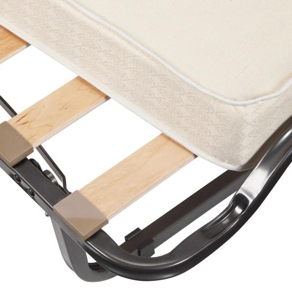 Linon Home Decor Luxor Folding Bed With Memory Foam 352std 01 As