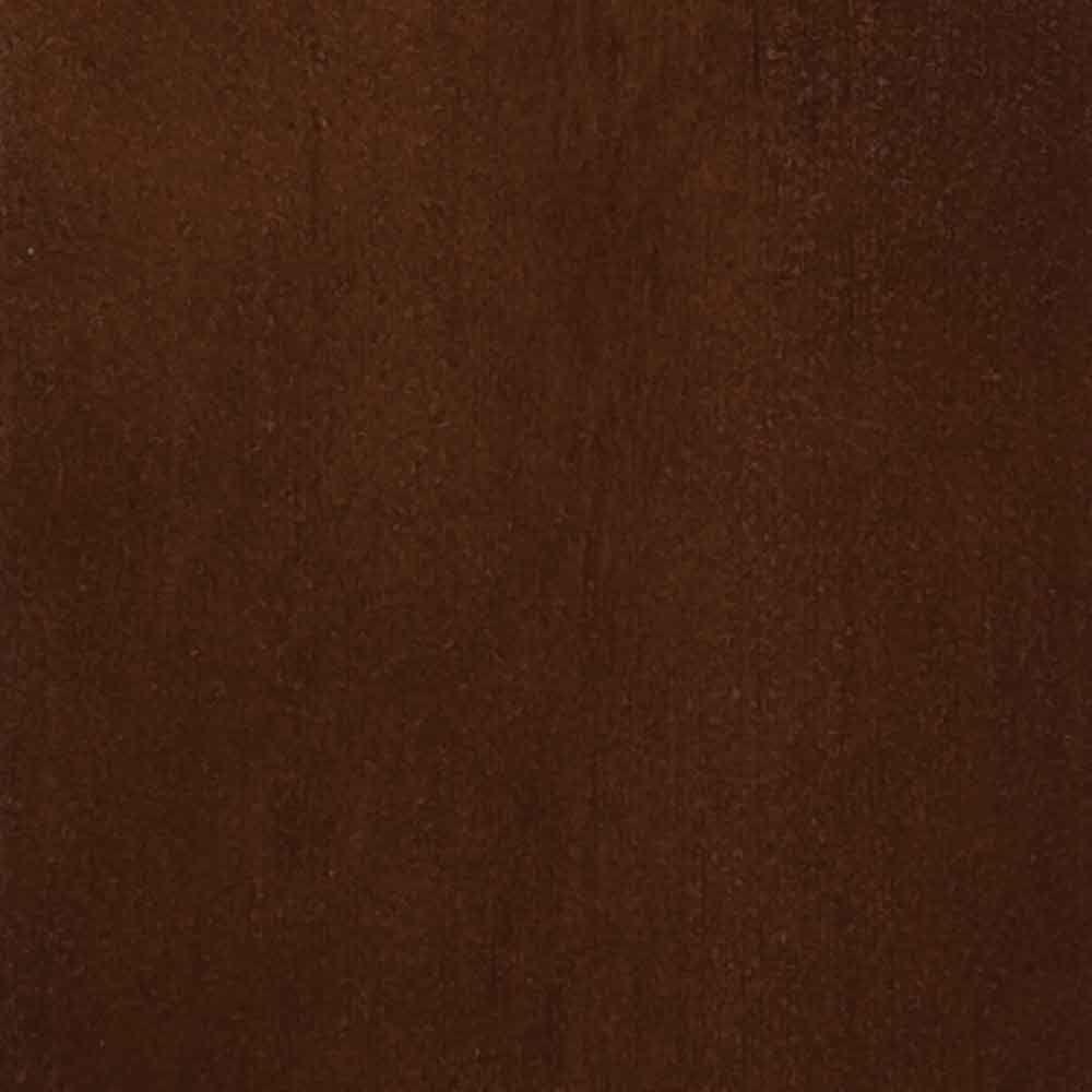 4 in. x 3 in. Wood Garage Door Sample in Light Cedar with Dark Oak 009 Stain