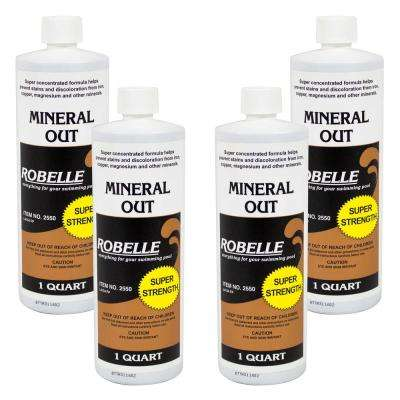 1 qt. Pool Mineral Out Stain Remover (4-Pack)