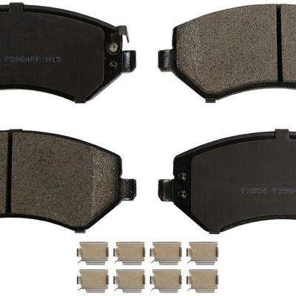 Front ProSolution Semi-Metallic Brake Pads fits 2002-2007 Jeep Liberty