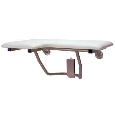 CareGiver 26 in. Right Hand Shower Seat Bench