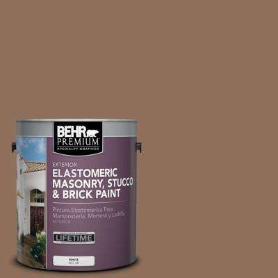 1 gal. #N240-6 Wild Mustang Elastomeric Masonry, Stucco and Brick Paint