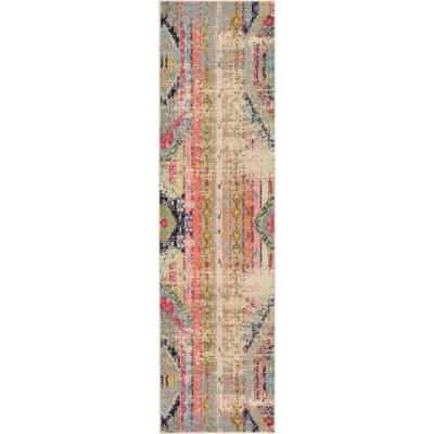 Sedona Yosemite Multi 2 ft. x 10 ft. Runner Rug