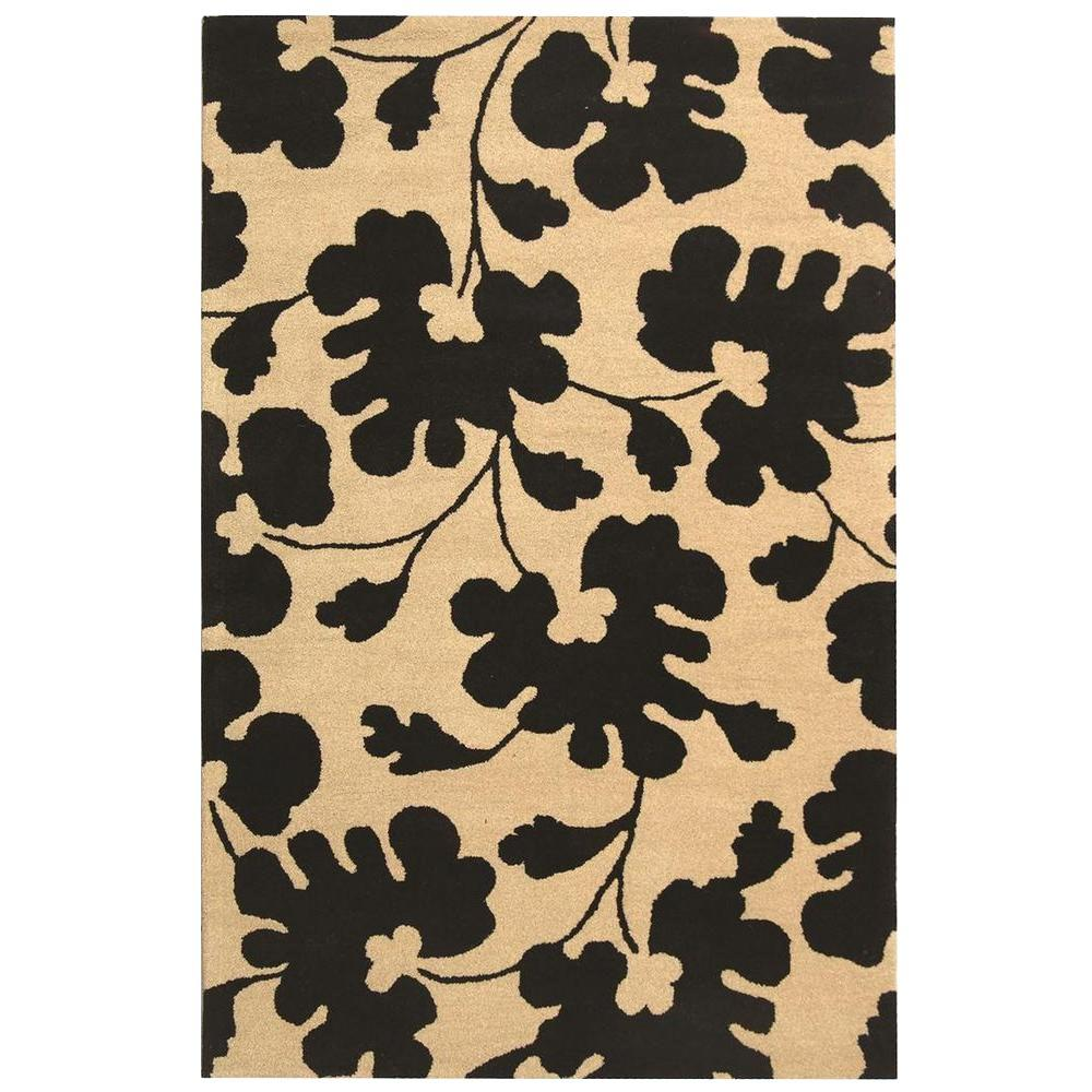 Soho Beige/Black 7 ft. 6 in. x 9 ft. 6 in.