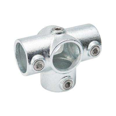 1-1/4 in. Galvanized Structural Steel Three Socket Cross (2-Pack)