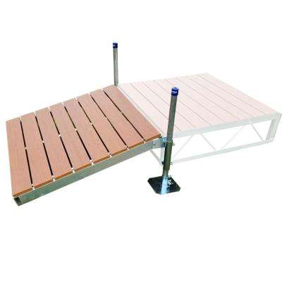 4 ft. x4 ft. Shore Ramp Kit with Aluminum Decking