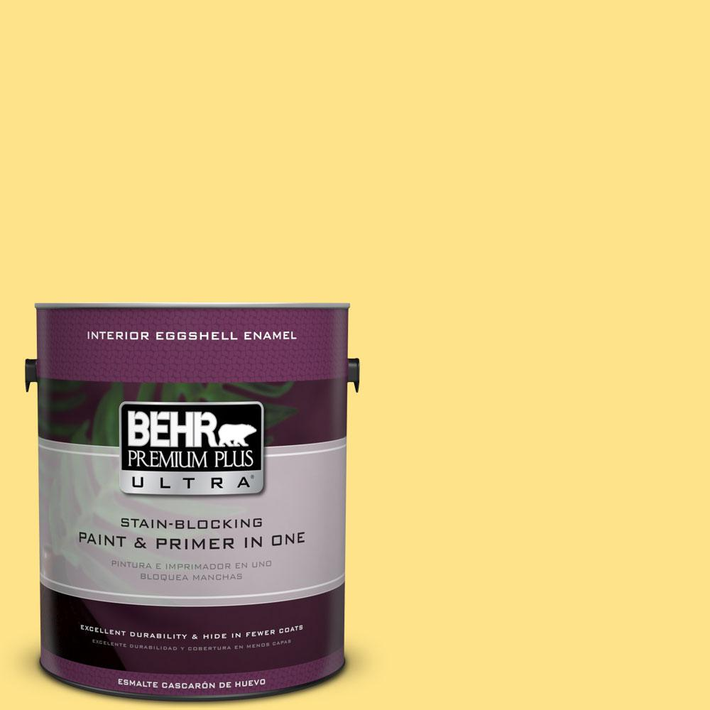 BEHR Premium Plus Ultra 1 gal. #P300-5 Upbeat Eggshell Enamel Interior Paint and Primer in One