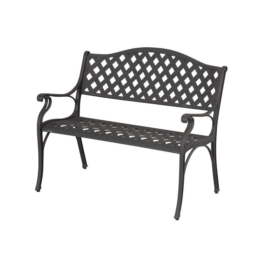 Hampton Bay Legacy Aluminum Patio Bench