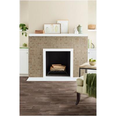 Limestone 12 in. x 12 in. x 6.35mm Ceramic Mosaic Floor and Wall Tile (1 sq. ft. / piece)