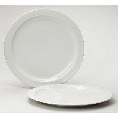 Hotel White Charger Plate