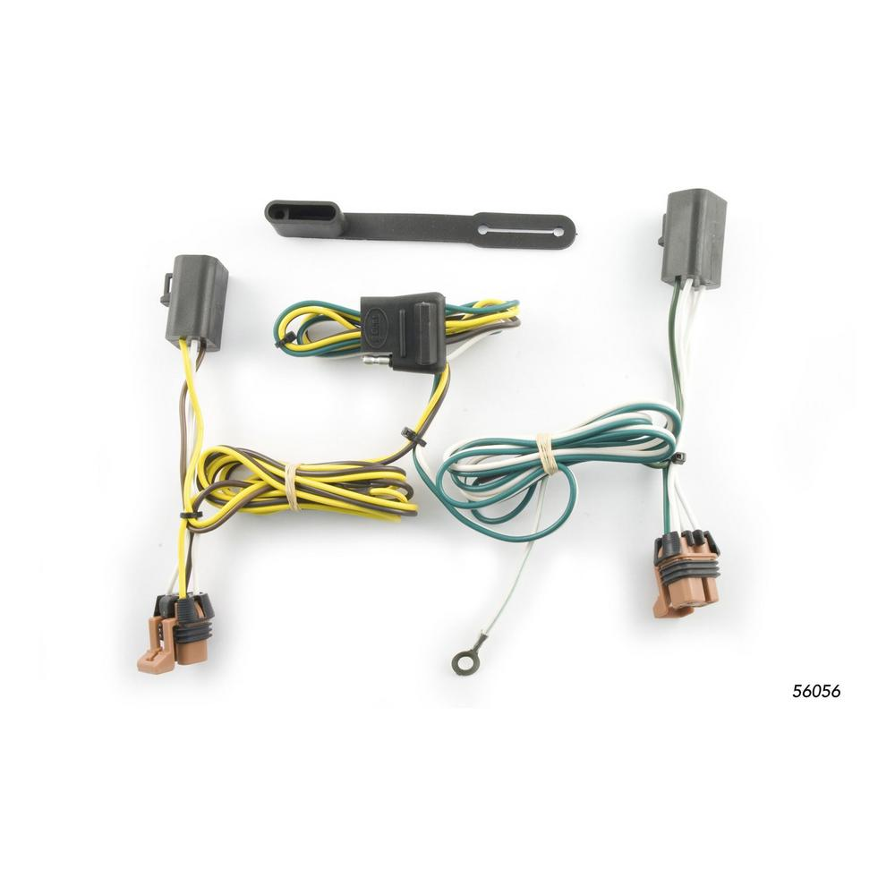 Amazing Curt Custom Wiring Harness Fits 2007 2012 Gmc Acadia 56056 The Wiring Cloud Rectuggs Outletorg