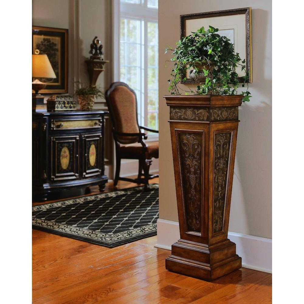 Pulaski Furniture Rich Nugget Storage Indoor Plant Stand