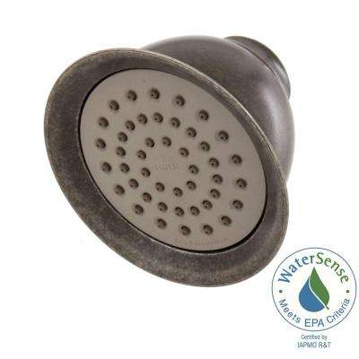 1-Function Eco-Performance Showerhead in Pewter