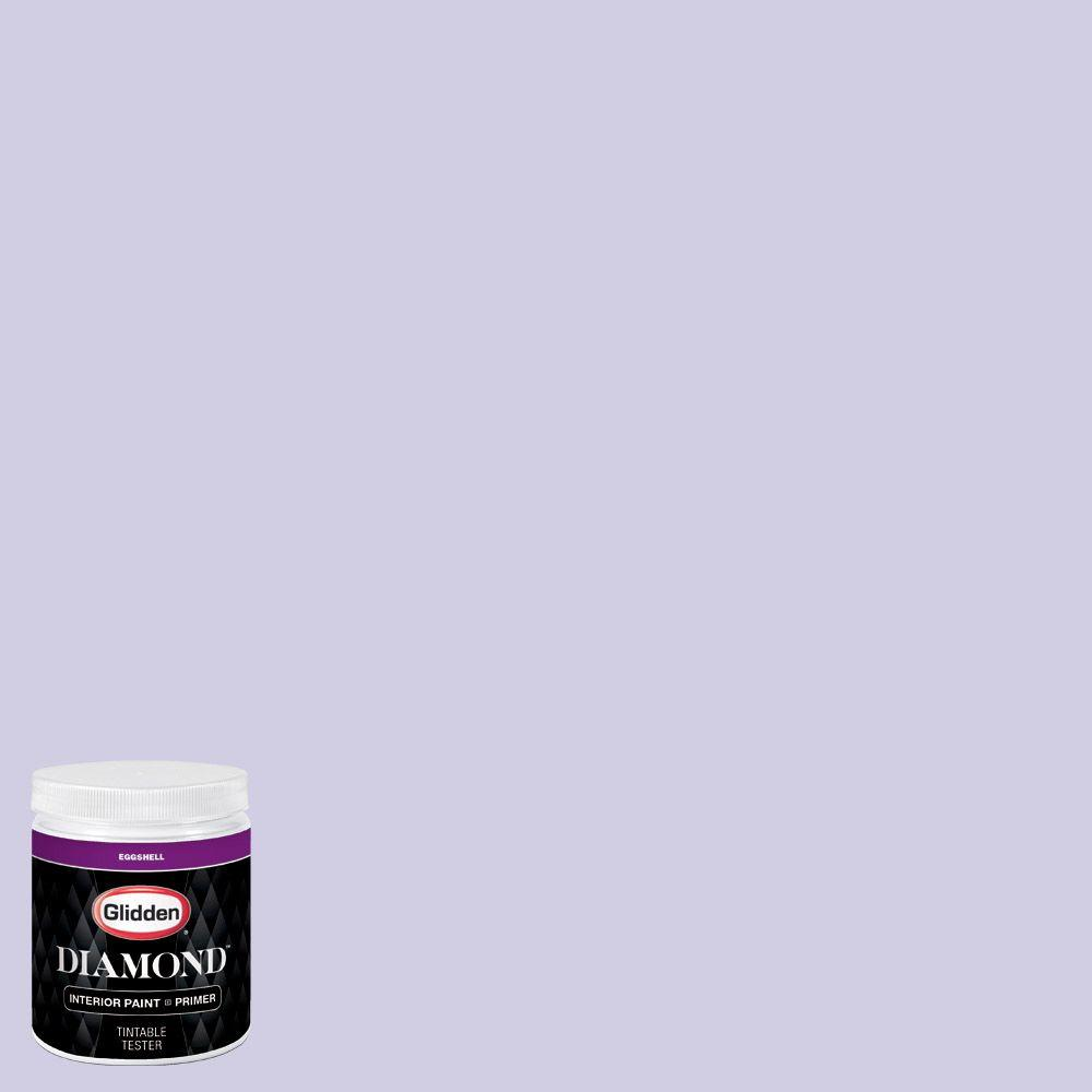 Purple Interior Paint: Glidden Diamond 8 Oz. #HDGV44 Iced Purple Eggshell