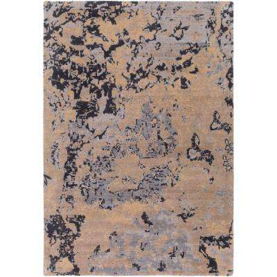 Andromeda Taupe 2 ft. x 3 ft. Indoor Area Rug