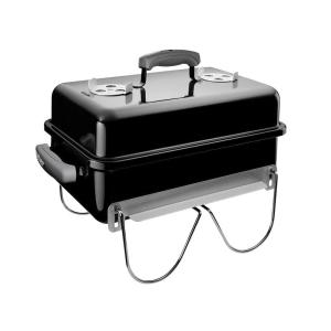 Weber Go-Anywhere Portable Charcoal Grill in Black by Weber