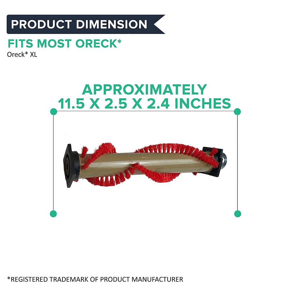 Replacement Oreck XL Roller Brush /& 4 Belts Part # 016-1152 75202-01 XL010-0604