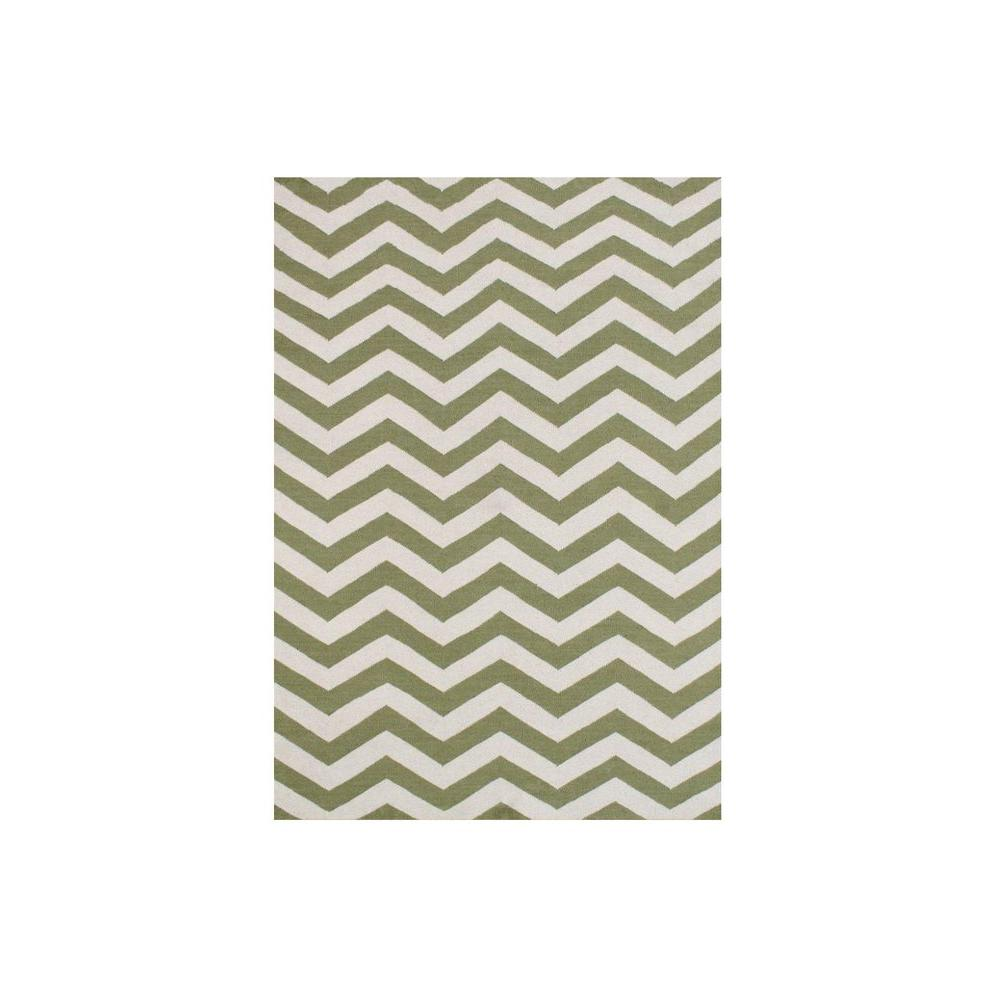 Green 5 ft. x 8 ft. Area Rug