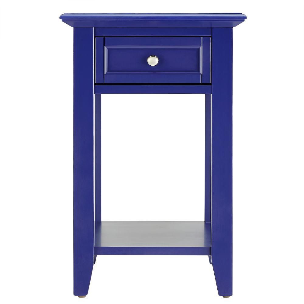 Harrison Twilight Blue Side Table