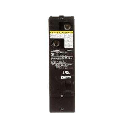 125 Amp Double-Pole 42kA Type QS Multi-Family Main Breaker