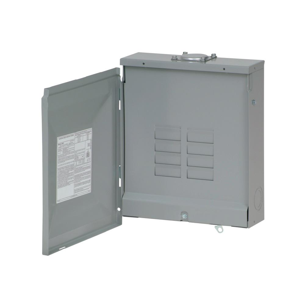 Eaton BR 125 Amp 8-Space 16-Circuit Outdoor Main Lug Loadcenter with ...