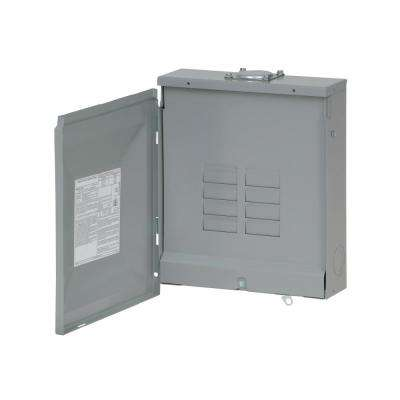 BR 125 Amp 8-Space 16-Circuit Outdoor Main Lug Loadcenter with Cover