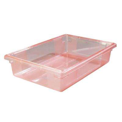 8.5 gal., 18x26x6 in. Polycarbonate Food Storage Box in Translucent Blue (Case of 6)