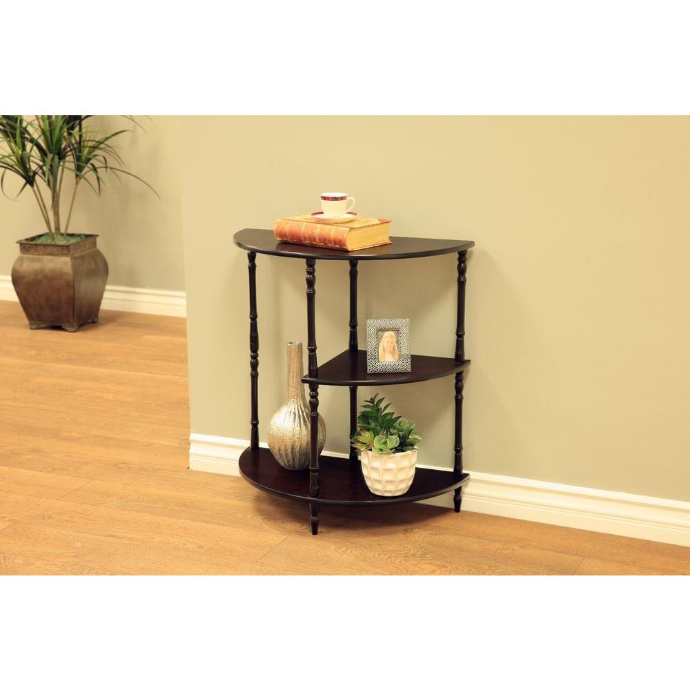 Frenchi Home Furnishing Cherry 3 Tier End Table