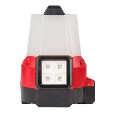 M18 18-Volt Cordless 2200-Lumen Radius LED Compact Site Light with Flood Mode (Tool-Only)