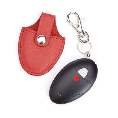Leather Bluetooth Tracking Smart Tag with Genuine Leather Key Fob Ring Organizer