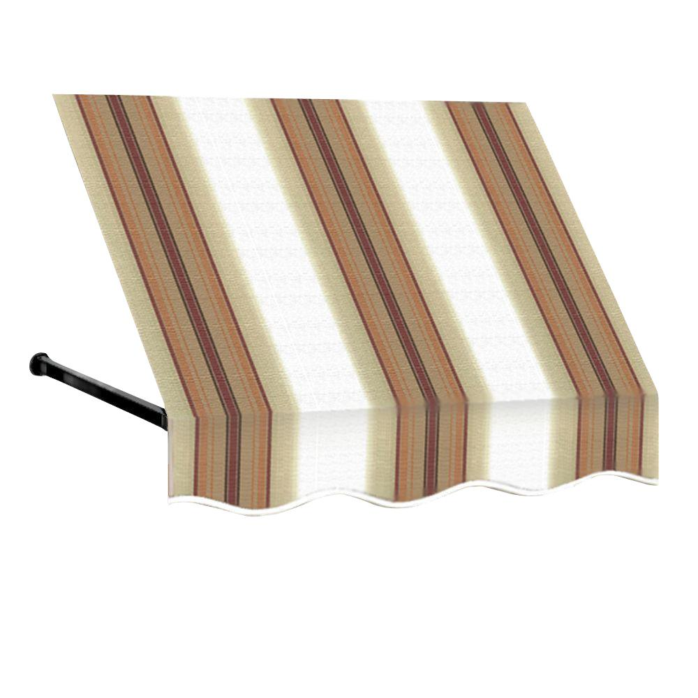 5 ft. Dallas Retro Window/Entry Awning (31 in. H x 24