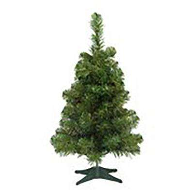 2 ft. x 13 in. Unlit Noble Pine Artificial Christmas Tree