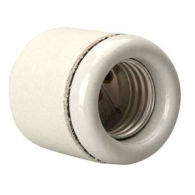 300-Watt Porcelain Socket for Brooder Clamp Work Light and Heat Lamp